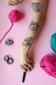 Three Styles For Free Make Your Own Temporary Tattoos Perfect Craft And DIY Lovers