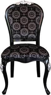 pompöös by casa padrino luxus barock esszimmer stuhl schwarz silber mit krone pompööser barock stuhl designed by harald glööckler