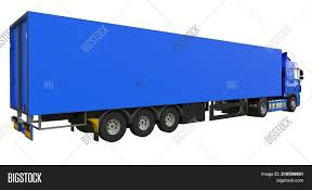 100 Big Blue Truck Large Image Photo Free Trial Stock