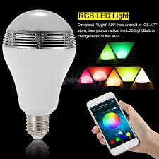 TS D03 Smart Wireless Bluetooth Speaker LED Lamp White