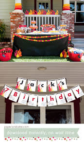 100 Truck Birthday Invitations Monster Free Printable Fire Envelopes