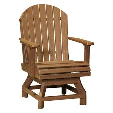 Adirondack Swivel Dining Chair | Recycled Patio | Fine Oak ...