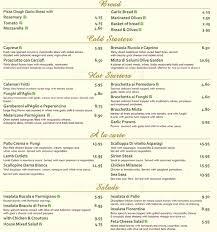 Menu at Olive Garden restaurant London 48 Coombe Ln