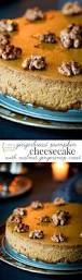 Gingersnap Pumpkin Pie Cheesecake by Gingerbread Pumpkin Cheesecake Healthy Seasonal Recipes