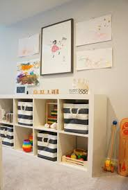 Basement Playroom Contemporary basement Freckles Chick