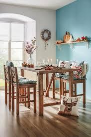 bartisch mit barhocker aus holz mystic forest bartisch