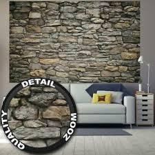 details zu fototapete graue steinwand tapete wandtapete steintapete wandbild 210x140cm