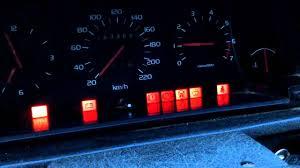 volvo 740 all warning lights