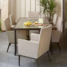 Seven Piece Dining Room Set by Patio Dining Sets Patio Dining Furniture The Home Depot