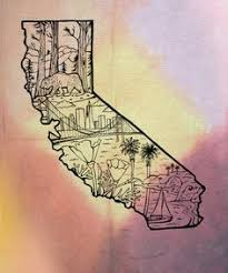 28 Collection Of California Drawing Tumblr