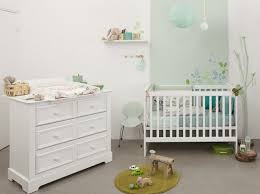 chambre bébé blanc deco chambre bebe blanc visuel 3