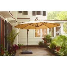 Patio Umbrella With Netting by Outdoor Solar Umbrella Home Depot Umbrellas At Lowes Solar