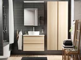moderne badmöbel aus eiche für dein badezimmer ikea