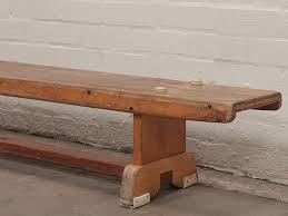 vintage 1940s pirana pine gym bench sold scaramanga
