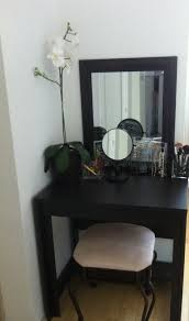 Small Room Desk Ideas by Vanity Desk Idea For Small Apartment I Bought The Table From Ikea