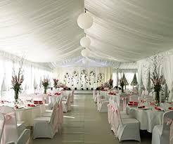 Outdoor Wedding Reception Marquee