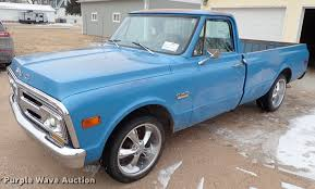 100 1972 Gmc Truck GMC Sierra 1500 Pickup Truck Item DF8745 Wednesday