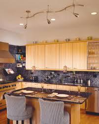 Kitchen Track Lighting Ideas majestic kitchen island track lighting ideas with 8 bottle wrought