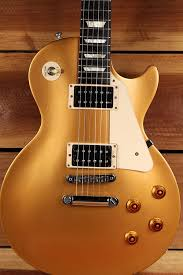 2016 GIBSON LES PAUL 50s TRIBUTE T GOLDTOP Gold Top Worn Satin Relic Gift 2437