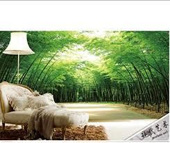 the custom 3d wandbilder ästhetische bambus wandbilder
