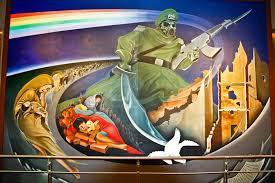 Denver Colorado Airport Murals by The Denver International Airport The New World Manifesto
