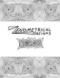 Digital Adult Coloring Book Download PDF 10 By ZenometricalDesigns