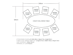Dining Table Measurements Round Standard Snooker Size In Cm Room Height