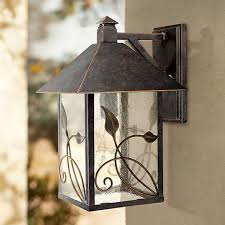 garden collection 15 high outdoor wall light 70987
