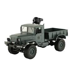 100 Rc Army Trucks Amazoncom Inkach Military Truck With WiFi Camera Metal Frame Off