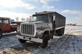 1970 Ford 9000 Grain Truck, 20' Steel Bed, Tandem Axle, Detroit V-8 ...