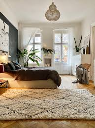 teppichwanderung teppich schlafzimmer bett be