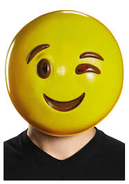 Purge Mask Halloween by Emoticon Wink Mask