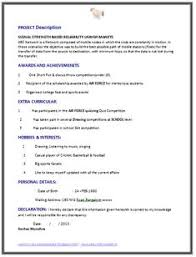 Fresher Computer Science Engineer Resume Sample Page 2 Best Format