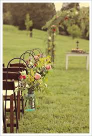 Outdoor Ceremony Decor Eye Candy Wedding Styles Country