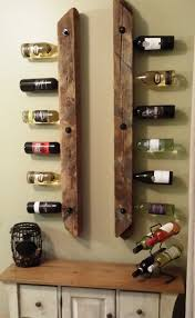 Wine Rack Made With 4x4 Inch Reclaimed Barn Wind Braces Supplied ... 25 Unique Barn Wood Crafts Ideas On Pinterest Best Board Decor Projects Rustic Hall Trees Farmhouse Wood Mirror Matthew Colleens Blog Old Fence Boards Made Into A Head I Love It So Going To 346 Best Sheet Metal Images Balcony 402 Unique Framing Ideas Picture Frame Trim My House Stardust Designs Wall How To Create Weathered Barnwood Look With This Inexpensive Old Barn