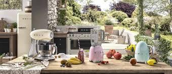 smeg retro designgeräte im stil der 50er jahre küchen