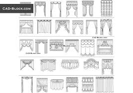 Bathroom Design Cad Blocks by Curtains Cad Blocks Free Download