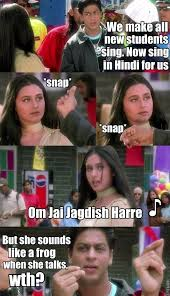 an accurate and honest summary of kuch kuch hota hai