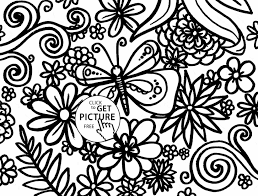 Coloring Pages Spring Flowers Page Flower Prints And Colors For