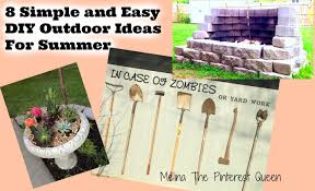 8 Simple And Easy DIY Outdoor Ideas For Summer - YouTube 22 Easy And Fun Diy Outdoor Fniture Ideas Cheap Diy Raised Garden Beds Best On Pinterest Design With Backyard Project 100 And Backyard Ideas Home Decor Front Yard Landscaping A Budget 14 Clever Firewood Racks Youtube Patio Home Depot Cover Plans Simple Designs Trends With Build Better 25 On Solar Lights 34 For Kids In 2017 Personable Images About Pool Small Pools