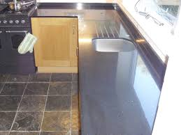 black mirror quartz worktops fitted as replacement worktops