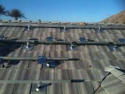 solar panels can be installed on any roofing type we just order