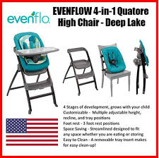☆review☆] Best Reviews Evenflo 4-In-1 Quatore High Chair (deep ...