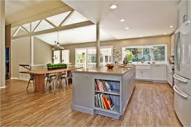 Pretty Vinyl Plank Flooring In Kitchen Contemporary With Load Bearing Columns Next To Alongside And Support Beams