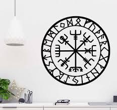 aufkleber wikinger kompass