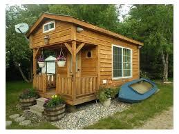 Tiny Amish Built Bunkhouse tiny houses Pinterest