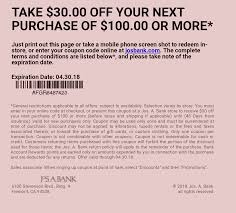 Coupon] $30 Off $100 Jos A Bank : Frugalmalefashion Aicpa Member Discount Program Moosejaw Coupon Code Blue Light Bulbs Home Depot The Best Discounts And Offers From The 2019 Rei Anniversay Sale Bodybuildingcom Promo 10 Percent Off Quill Com Official Traxxas Sf Opera 30 Off Mountain House Coupons Discount Codes Omcgear Pizza Hut Factoria Cabelas Canada 2018 Property Deals Uk Skiscom Door Heat Stopper Diabetuppli4less Vacation Christmas Patagonia Burlington Home Facebook