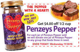 Penzey Spices Coupon / San Diego Hotel Packages The Ceo Who Called Trump A Racist And Sold Lot Of Tanger Hours Myrtle Beach Miromar Outlet Center Estero Fl Why I Only Use Penzeys Spices Antijune Cleaver Embrace Hope Springeaster Mini Gift Box Offer Spices Rv Rental Deals 2 Free Jars Arizona Dreaming Spice At Stores Penzeys Mini Soul Box Yoox Promo Codes Active Deals Scott Coupons By Mail No Surveys Coupon Clipping Service 20 Coupon For Shutterfly Knucklebonz Free Shipping Marley Lilly Target Code July 2018