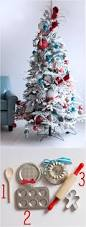 Seashell Christmas Tree by Baking Themed Christmas Tree Decorate With Mini Wooden Spoons