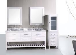 Bathroom Sink Vanities Overstock by Adorna 72 Inch Double Sink Bathroom Vanity Set In Pearl White